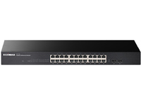 Edimax 24P 10/100/1000M Rackmount Gigabit Ethernet Switch GS-1026 V2 - eet01