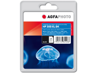AgfaPhoto Ink Black, HP No. 300 Pages 200, 18ml APHP300XLB - eet01