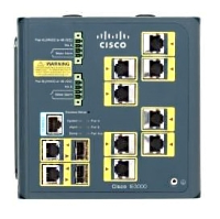 Cisco Cisco Industrial Ethernet 3000 Series - Switch - L2+ - Managed - 8 X 10/100 + 2 X Combo Gigabit Sfp - Din Rail Mountable Ie-3000-8tc - xep01