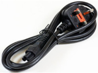 MicroConnect Power Cord 3m UK / C5 Black Power UK Type G to C5 PE090830 - eet01