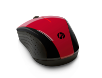 Hp Hp X3000 - Mouse - Optical - 3 Buttons - Wireless - 2.4 Ghz - Usb Wireless Receiver - Sunset Red N4g65aa#abb-r - xep01