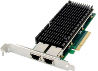 MicroConnect PCIe x 8 Dual RJ45 10 GbE Ethernet Server NIC X540 MC-PCIE-X540 - eet01