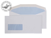3909 Blake Purely Everyday White Window Gummed Mailer 114X235mm 90Gm2 Pack 1000 Code 3909 3P- 3909