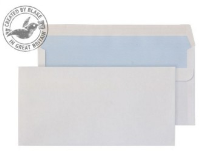 16882 Blake Purely Everyday White Self Seal Wallet 121X235mm 90Gm2 Pack 1000 Code 16882 3P- 16882