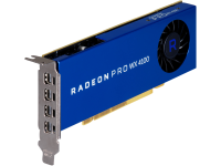 Hp Amd Radeon Pro Wx 4100 - Graphics Card - Radeon Pro Wx 4100 - 4 Gb Gddr5 - Pcie 3.0 X16 Low Profile - 4 X Mini Displayport - Promo - For Workstation Z2 G4  Z240  Z4 G4  Z6 G4  Z8 G4 Z0b15at - xep01