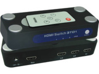 MicroConnect HDMI Switch box, 3 In/1 Out With remote controller WE087 - eet01