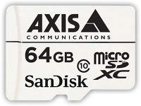 Axis SURVEILLANCE CARD 64 GB 10P  5801-961 - eet01