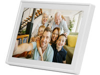 "Denver 7"" Smart photoframe White, with FRAMEO software PFF-711WHITE - eet01"