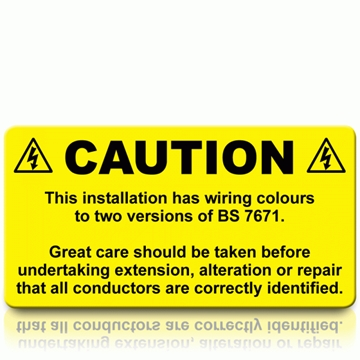 Health & Safety Labels