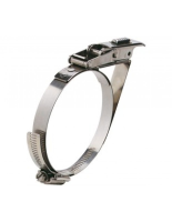 58PBC-HT Quick Release Band Clamp (Heavy Duty) with safety catch stainless steel