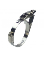 27-19PBC-HT Quick Release Band Clamp with safety catch stainless steel