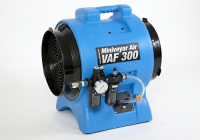 Intrinsically Safe Pneumatic Fan and Exhaust Blower