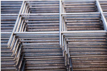 8mm Long And Cross Bars Concrete Mesh Stainless Steel