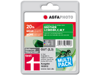 APB985SETD AgfaPhoto Ink BK/C/M/Y Pages 2.089, 28ml - eet01