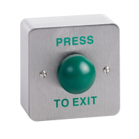 SSP SURFACE MOUNT GREEN DOME EXIT BUTTON SPB004S - eet01