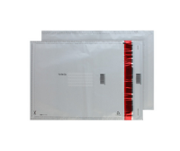 SE1020 Blake Purely Packaging White/Black Co-Ex Ld P&S Polythene Pocket 430X330 70Mu Pk500 Code Se1020 3P- SE1020