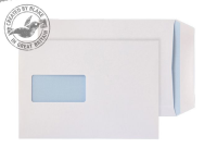 8894 Blake Purely Everyday White Window Self Seal Pocket 229X162mm 110Gm2 Pack 500 Code 8894 3P- 8894