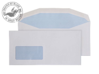 8904 Blake Purely Everyday White Window Gummed Mailer 114X235mm 100Gm2 Pack 1000 Code 8904 3P- 8904