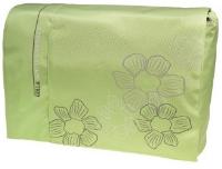 "Golla Basic Laptop Bag 16"", GABI Lime green + flower print G1034 - eet01"