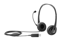 Hp Hp - Headset - On-ear - Wired - Usb - Black Jack - For Hp 245 G7; Elitebook 735 G6; Elitebook X360; Mobile Thin Client Mt45; Zbook 15 G6  17 G6 T1a67aa - xep01