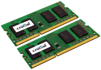 Crucial 8GB KIT (4GBX2) DDR3 1600 MT/S (PC3-12800) CL11 SODIMM CT2KIT51264BF160BJ - eet01