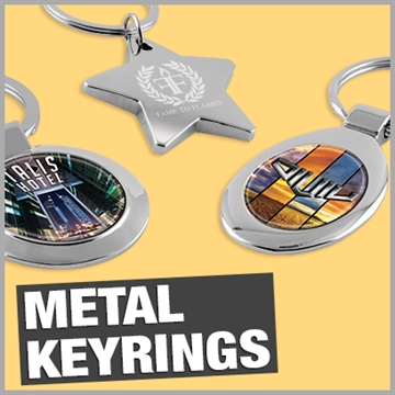 Metal Keyring Promotional Products and Branded Merchandise Suppliers