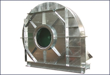 Direct Drive Galvanised Fans