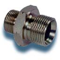 """1"""" to 1"""" Male/male pipe fitting"""