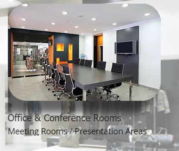 Installation Of Fixtures For Meetings Rooms