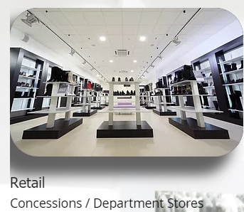 Manufacturer Of Fttings For Retail Concessions