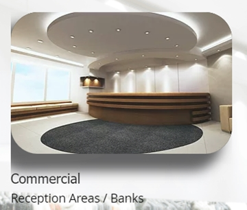 Installation Of Fixtures For Bank Counters