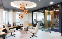 Glass Partitioning Systems For Use In Contemporary Offices