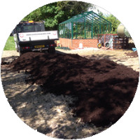 High Quality Horse Manure For Individual Gardens