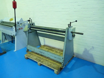 Edwards 1250 x 75mm Heavy Duty Hand Operated Bending Rolls