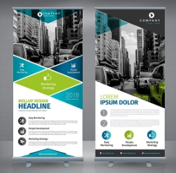 Single-Sided Pop Up Banners For Use In The Retail Sector