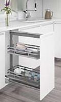 Mercury Base Height Pull-Out Larder