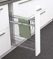 Classic 150 mm Towel Rail Pull-Out