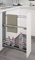 Mercury 150 mm Towel Rail Pull-Out
