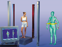 3D body scanners for clothing
