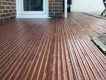 Building and Construction Decking Recycled Plastic Manufacturers