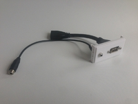 ProFusion Outlet Panel HDMI v1.4, 3,5 mm Audio WI221276 - eet01