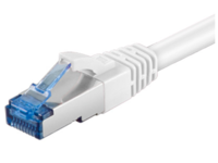 MicroConnect S/FTP CAT6A 1M White LSZH PIMF( Pairs in metal foil) SFTP6A01W - eet01
