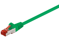 MicroConnect S/FTP CAT6 1.5m Green LSZH PiMF (Pairs in metal foil) SSTP6015G - eet01