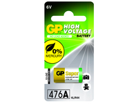 GP Batteries HIGH VOLTAGE 476A Blister with 1 battery. 12V 476A 1-P 476 - eet01