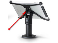 SpacePole X-Frame, Holder, iPad Air 2 Excl. Pole/stand, Black, SPXF7205-02 - eet01