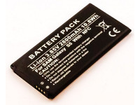 MicroSpareparts Mobile Galaxy S5 Battery With NFC Li-Ion 3.85V 2800mAh 10.8Wh MOBX-SA-BA0001 - eet01
