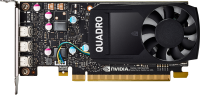 Hp Nvidia Quadro P4000 - Graphics Card - Quadro P4000 - 8 Gb Gddr5 - 4 X Displayport - For Workstation Z240 (sff) 1me40aa - xep01