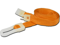 Capture 10mm Break-Away Lanyard with P  AC218-OR - eet01