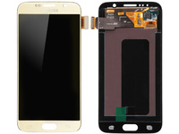 MicroSpareparts Mobile Samsung Galaxy S6 Series LCD Screen and Digitizer Assembly MSPP70774 - eet01