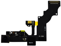 MicroSpareparts Mobile Front camera+sensor flex for  MOBX-IP6P-INT-10 - eet01
